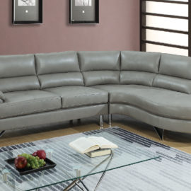2-Pcs Modern Sofa Set in 2 Colors