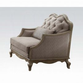 Chelmsford Beige Chair w/5 Pillows