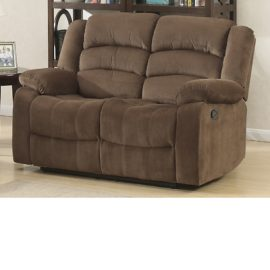 Bill loveseat recliner Brown
