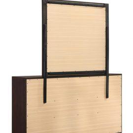 Kauffman 6-Drawer Dresser Dark Cocoa