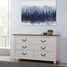 Stillwood 6-Drawer Dresser Vintage Linen