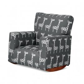 Neki Kids Upholstered Rocker Chair
