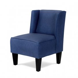 Karl Kids Blue Upholstered Chair