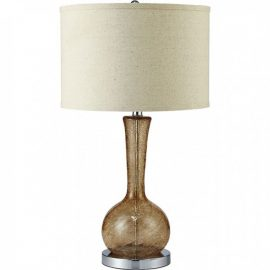 Rachel Amber Glass Table Lamp