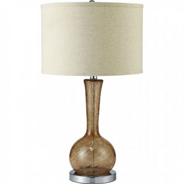 Rachel Amber Glass Table Lamp