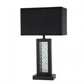 Abbi luxurious Black Table Lamp