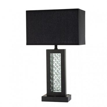 Abbi luxurious Black Table Lamp