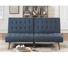 Sofa Sleeper Button Tufted Navy